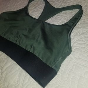 Victoria's Secret Sport Army Green Sports Bra